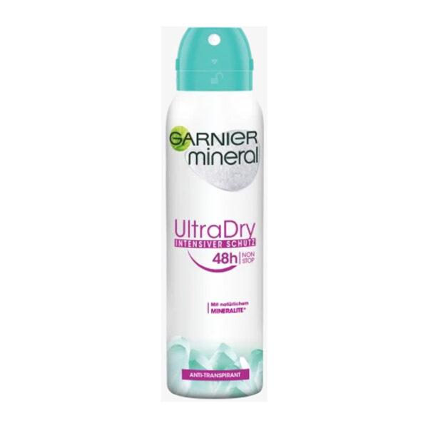 Deo Spray Antitranspirant Mineral Ultra Dry 48h, 150 ml