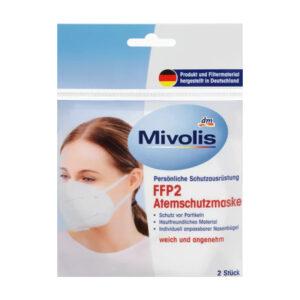 FFP2 Atemschutzmaske Einweg, 2 St