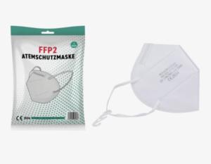 FFP2 Atemschutzmaske für Erwachsene, Einweg, 5 St