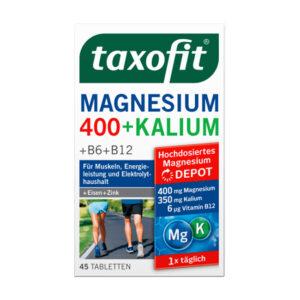 Magnesium + Kalium Tabletten 45 St., 87,8 g