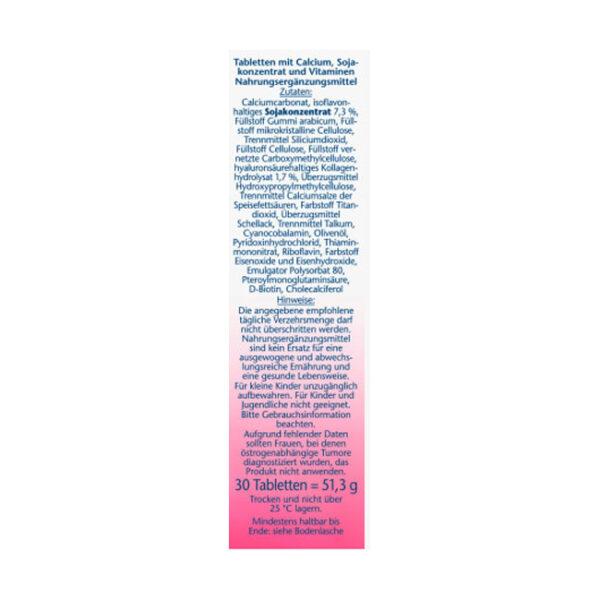 Aktiv-Meno Soja-Isoflavone + Calcium + Vitamin D3 Tabletten 30 St.