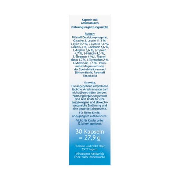 Aminosäuren Vital Kapseln 30 St., 27,2 g