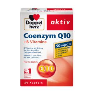 Coenzym Q 10 + B-Vitamine Kapseln 30 St.