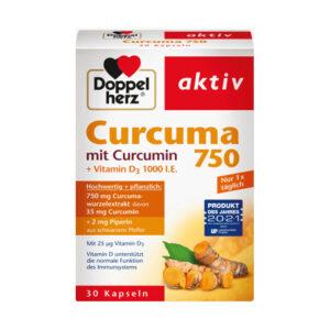 Curcuma 750 Kapseln 30 St., 26,7 g