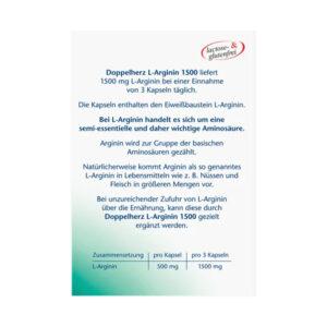 L-Arginin Kapseln, 30 St., 18,6 g