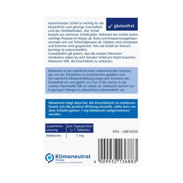 Melatonin Schneller Einschlafen, 3,8 g