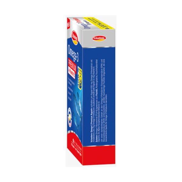 Omega 3 Lachs- & Fischöl Kapseln 90 St., 79 g