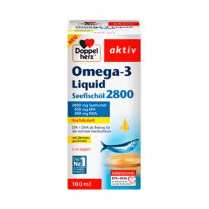 Omega 3 Seefischöl Liquid, 100 ml
