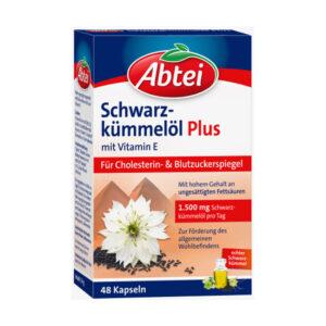 Schwarzkümmelöl Plus Kapseln 48 St., 34 g