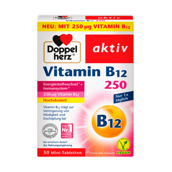 Vitamin B12 Tabletten (30 Stück)