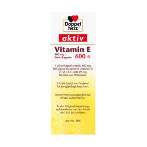 Vitamin E 600N Kapseln, 40 St