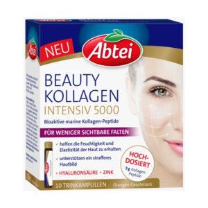 Beauty Kollagen Intensiv 5.000 Trink-Ampullen (10 Stück), 250 ml