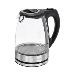 Bomann WKS 6032 G CB Wasserkocher 1,7 l 2200 W Transparent