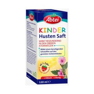Kinder Hustensaft Honig Eibisch, 120 ml