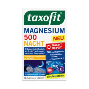 Magnesium Nacht (30 Tabletten), 48,7 g