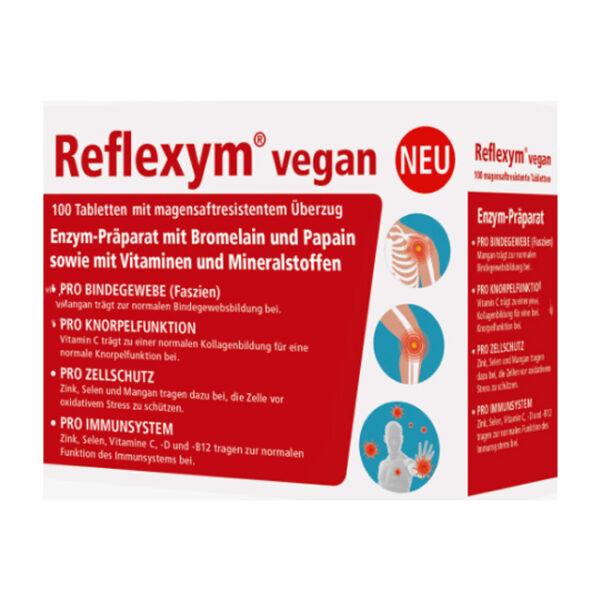 Reflexym vegan 100 Tabletten, 70 g