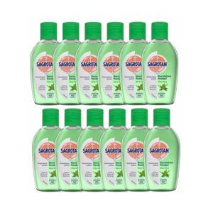 Sagrotan Desinfektion Handgel Aloe Vera Desinfektionsmittel Hygiene 12x50m