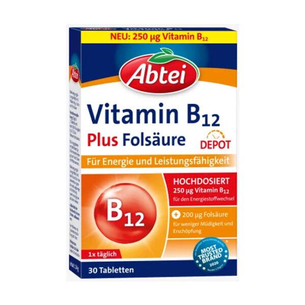Vitamin B12 Tabletten (30 Stück), 24 g