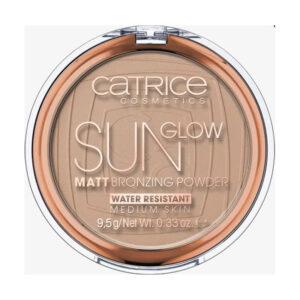 Bronzer Sun Glow Matt Bronzing Powder Medium Bronze 030, 9,5 g