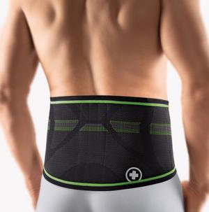 BORT StabiloBasic Sport Rückenbandage mit Pelotte