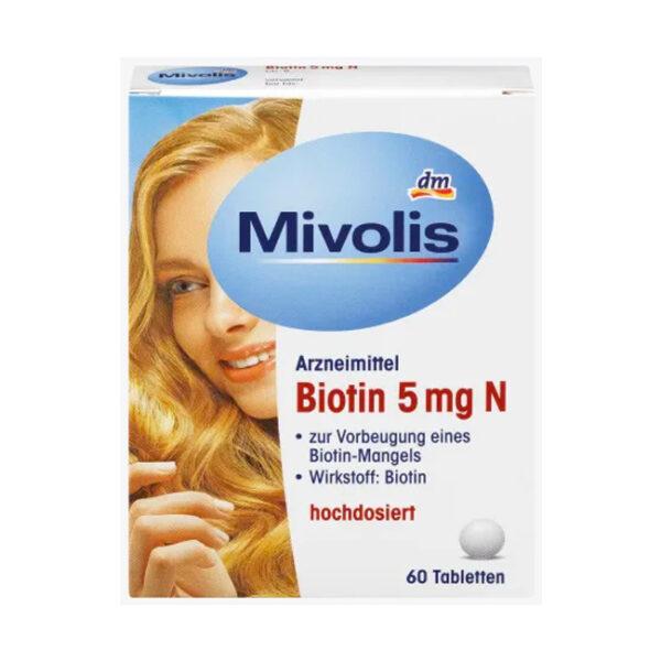 Biotin 5 mg N, Tabletten, 60 St