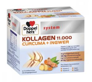 Doppelherz system Kollagen 11.000 Curcuma + Ingwer